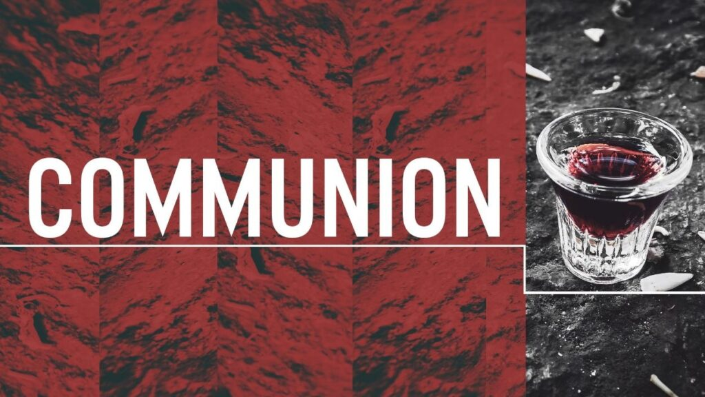 Communion Message Image